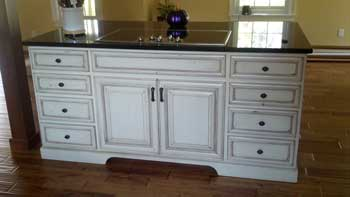 Kitchen Island Photo